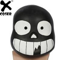 XCOSER Undertale Cosplay Helmet Soft Resin Full Head Helmets Game Cosplay Props Cute Costume Accessory Helmet Mask For Children