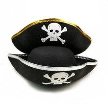 Halloween explosión sombrero de pirata de moda Cosplay Prop fiesta capitán  pirata de sangre de pirata 0707bbbf7dd