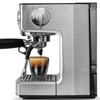 Kaffee maker VERWENDET voll halbautomatische espresso topf dampf Espresso Kaffee Maker