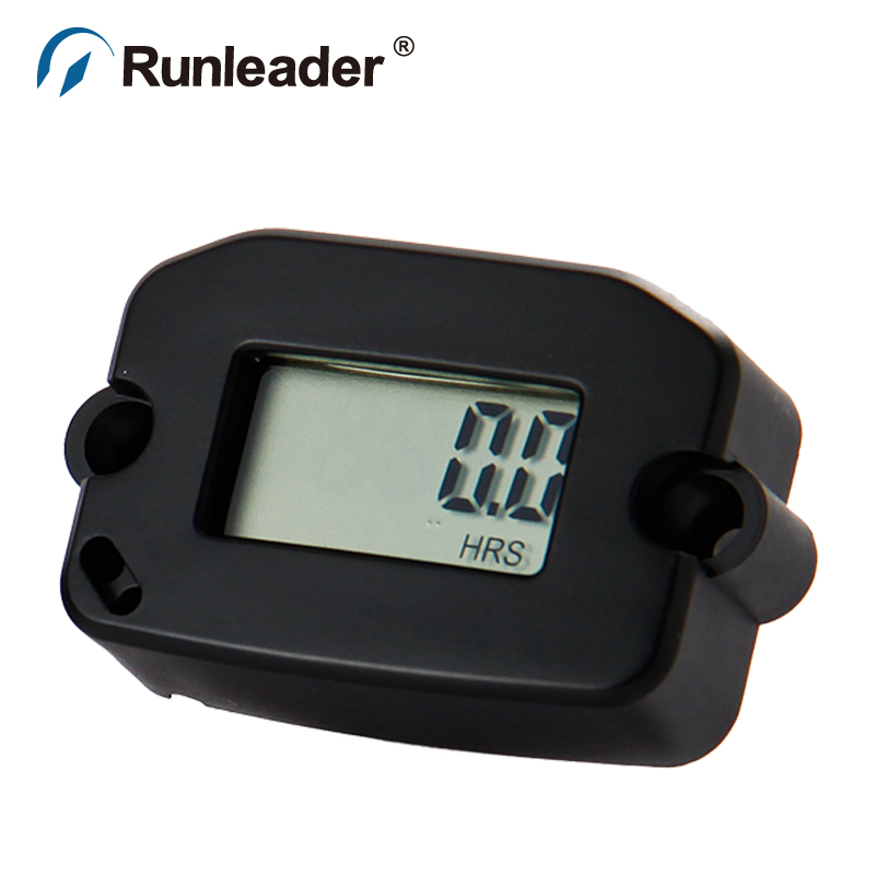 Inductive LCD Tacho Hour Meter counter for engine motocross motorcycle jet ski jet boat outboard generator chainsaw ATV
