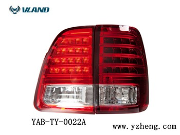 VLAND Factory for Land Cruis Car Tail light for LED Taillight 2008 2010 2015 for Land Cruiser Tail lamp with DRL+Reverse+Brake
