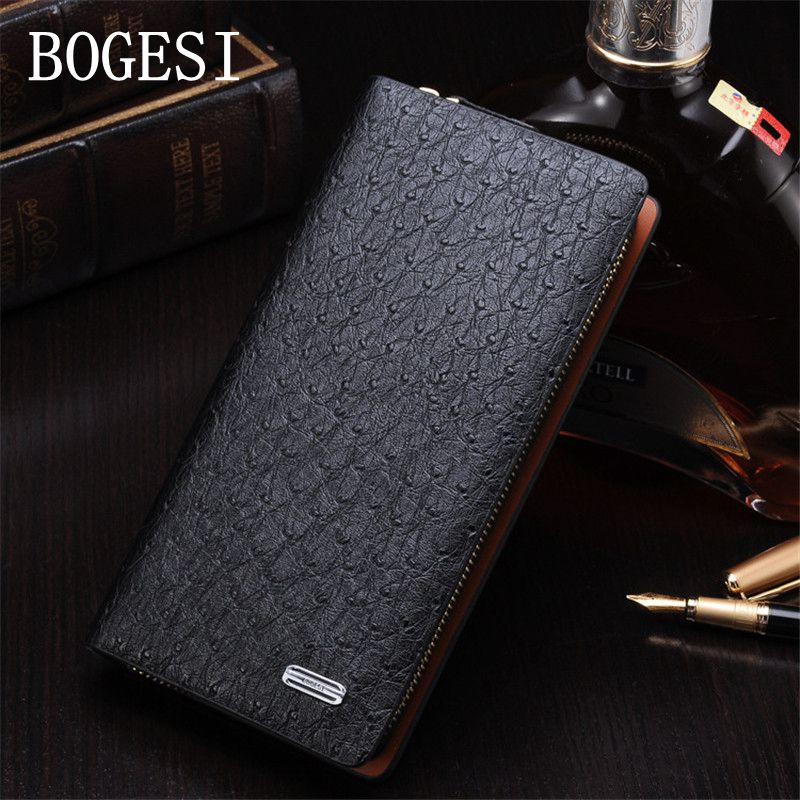 BOGESI Wallet Men New PU Purse Long Peacock pattern Solid Colour Male Wallets Clutch Large Capacity Zipper Card Holder Business