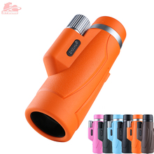 8X42 Portable HD Monocular Telescope Multi Color Optional Daily Life Waterproof Telescopes Outdoor Hiking, Latest New Design