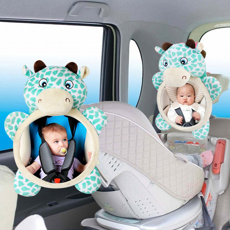 Safety Car Back Seat Baby View Mirror Rearview Adjustable Rear Convex Kids Monitor
