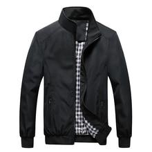 New 2019 Jacket Men Fashion Casual Loose  Mens Jacket Sportswear Bombe