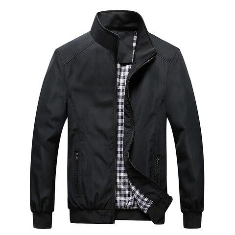 New 2019 Jacket Men Fashion Casual Loose  Mens Jacket Sportswear Bomber Jacket Mens jackets and Coats Plus Size Pakistan