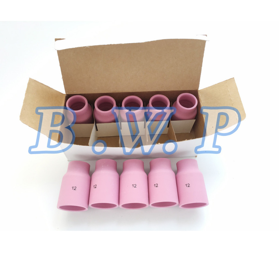 """10-pk 53N87 #12 3//4/"""" Large Ceramic Gas Lens Cup Nozzle for TIG Welding Torch"""