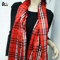 Envío Gratis primavera otoño 2015 nueva faux satén de seda de la marca bufanda de seda, 53*160 cm de moda Diseñador de la Marca seda bufanda de las mujeres para la señora