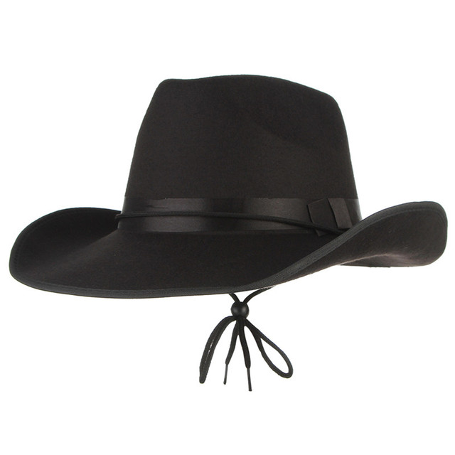 942235ee629 Colors vintage western cowboy hats for men wide brim sun visor cap  sombreros autumn winter jpg