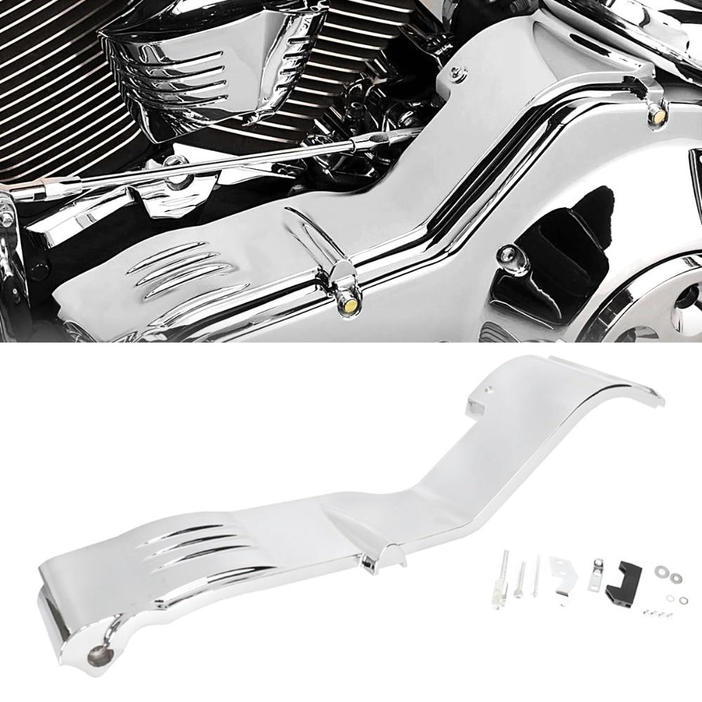 chrome inner primary covers for harley touring street glide road glide flhx fltr 1990 2003 2004 2005 2006 models [ 1000 x 1000 Pixel ]