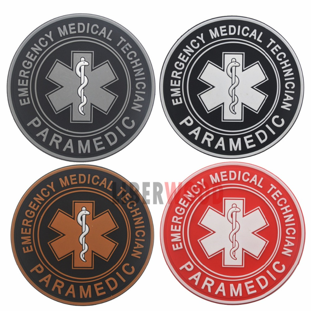 The Best Pvc Patch Star Of Life Us Army Rescuer Gear Morale Patch Medical Badges Appliques Embroidered Patch For Jacket Backpack Patches Arts,crafts & Sewing