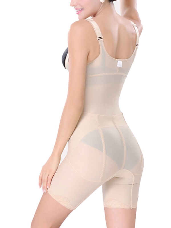 73e49761d Aliexpress.com   Buy Easy to urinate sexy women bodysuit lingerie underbust  sexy body shapewear nude zipper body shaper corset with pants from Reliable  body ...