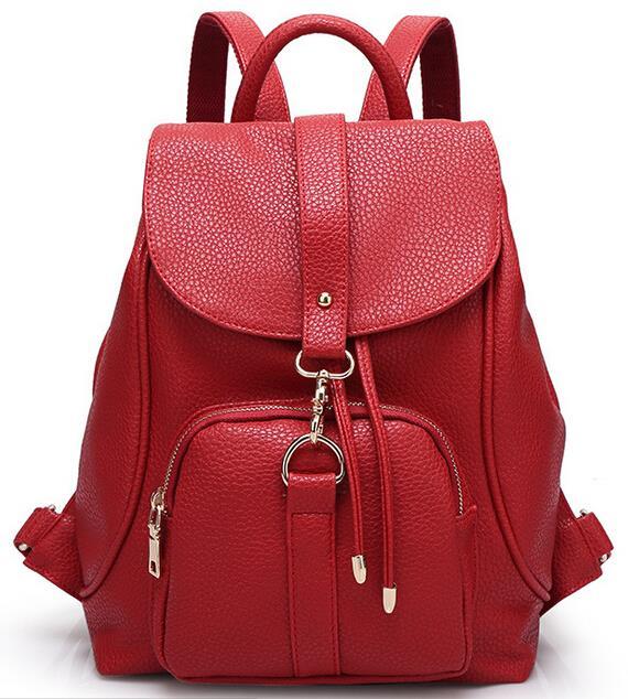 PASTE designer brand fashion new genuine leather backpack women ...