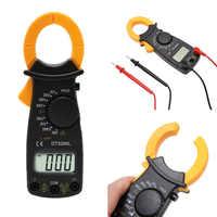 Digital medidor de braçadeira multímetro medidor de tensão atual tongs resistência tester eletrônico multimetre medidor navio da gota
