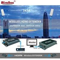 MiraBox Wi Fi HDMI Extender беспроводной приемник HDMI Поддержка 1080p @ 60 Гц Крытый 150 ~ 300 м Открытый 3 км беспроводной передатчик HDMI