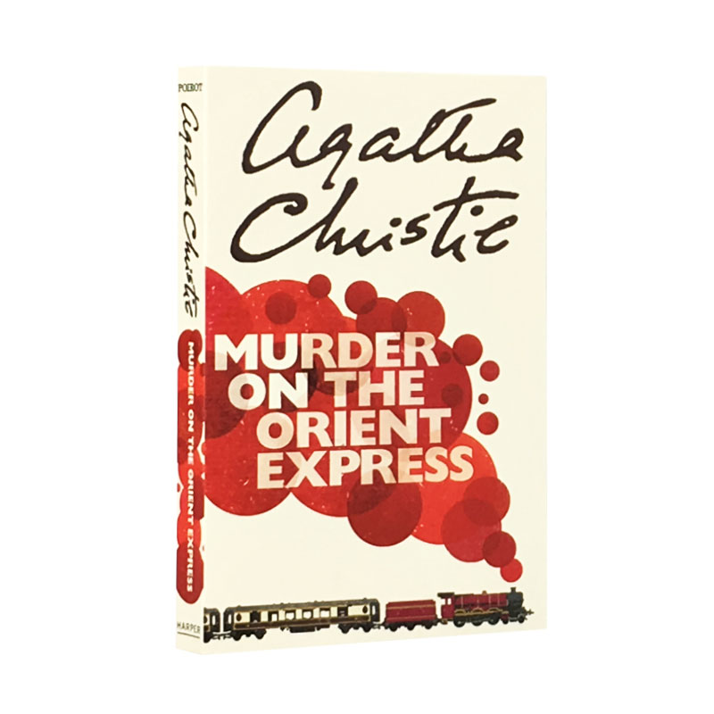 New Hot Murder On The Orient Express english Fiction book for adult children murder calls on the temple mount