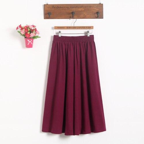 Модные женские короткие юбки для беременных; юбка с поясом; юбка для беременных; большие размеры; юбка-брюки; Одежда для беременных - Цвет: Красный