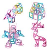 Kids Toy New Bricks 88PCS Magnetic 3D Building Blocks Magformers Model Designer Sets DIY Educational Toys