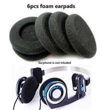 6pcs Replacement Earphone Earpads High quality Sponge Soft Foam Cushion For PP PX100 Diameter 5cm Ear Pad