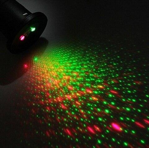 laser ao ar livre luzes de natal