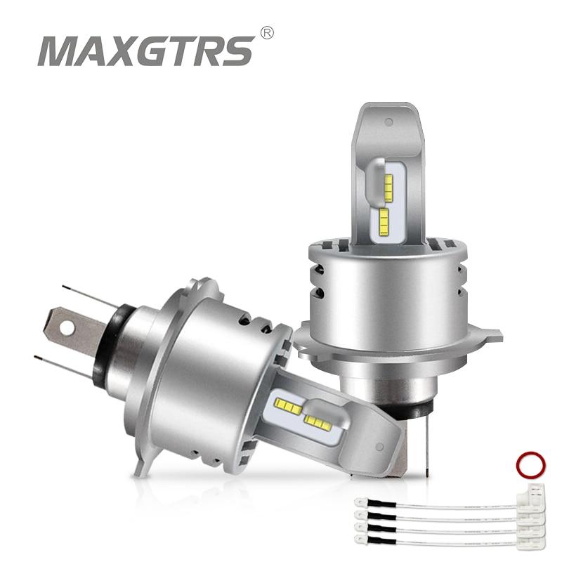 MAXGTRS Car LED Headlight Bulbs All in One H1 H3 H7 H11 H8 9005 HB3 9006 HB4 60W 12000LM H4 High Low Beam Lights 6000K 12V cnsunnylight car led headlight bulbs all in one h7 h11 h1 880 h3 9005 9006 9012 5202 72w 8500lm h4 h13 9007 high low beam lights