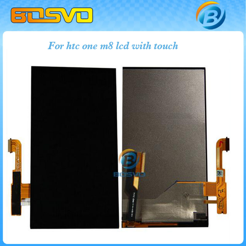 Brand new replacement for HTC one m8 LCD display screen with touch digitizer panel glass assembly black one piece free shipping new lcd display touch screen digitizer assembly for htc one m9 with frame replacement free shipping
