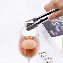 شاومي Mijia دائرة الفرح آيس كيوب 304 الفولاذ المقاوم للصدأ برودة الحجر قابل للغسل الاستخدام على المدى الطويل جهاز تكوين الثلج للنبيذ الفلين عصير الفاكهة