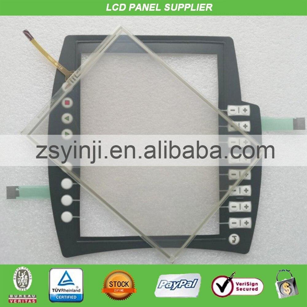 Membrane Switch keypad + Touch Glass for KRC KRC4 KR C4 00-168-334Membrane Switch keypad + Touch Glass for KRC KRC4 KR C4 00-168-334