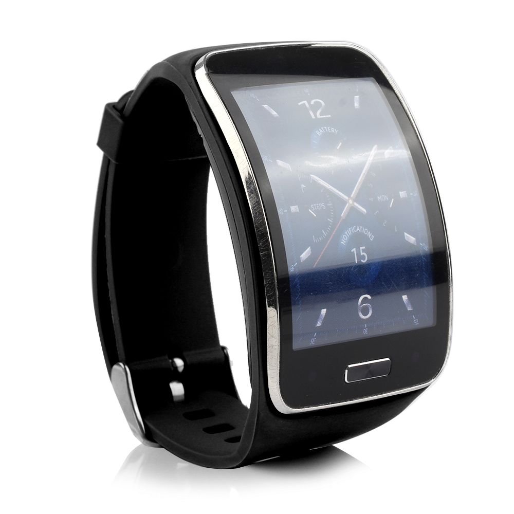 (SXSS750) Replacement Wristband Replacement Bracelet Strap Band For Samsung Gear S Smart Watch SM-R750 (Not Include Watch)
