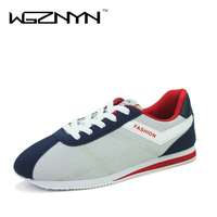 WGZNYN 2017 Fashion Men Casual Shoes Spring Autumn Mens Trainers Breathable Flats Walking Shoes Zapatillas Hombre
