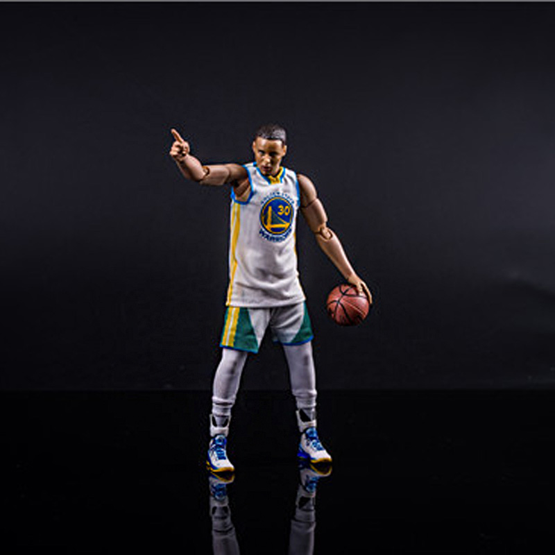 American Golden State guerrier basket-ball super star figurines jeu à la maison n ° 30 Stephen Curry 22cm 1:9 échelle modèle poupée jouets