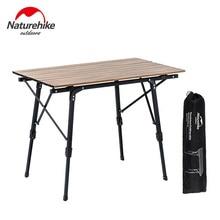 Naturehike барбекю стол для пикника Открытый складной столик для кемпинга портативный полевой Кемпинг чайный столик