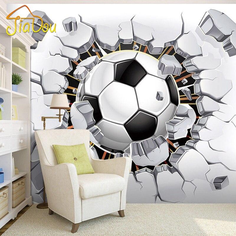 online get cheap football bedroom wallpaper -aliexpress