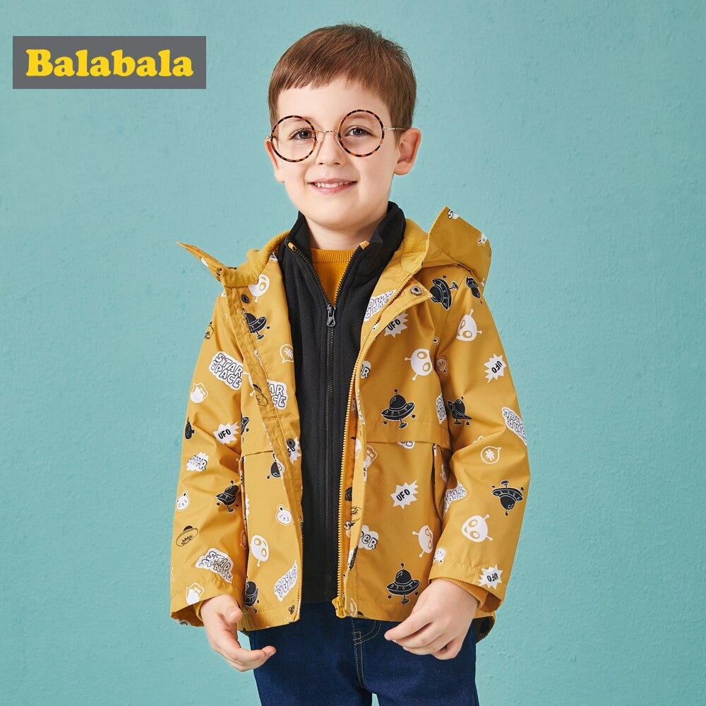 Balabala children's jackets for boys enfant Outerwear clothes kids Clothing sport coats Frontal clothing children's windbreaker трусы balabala 28702141254 2015