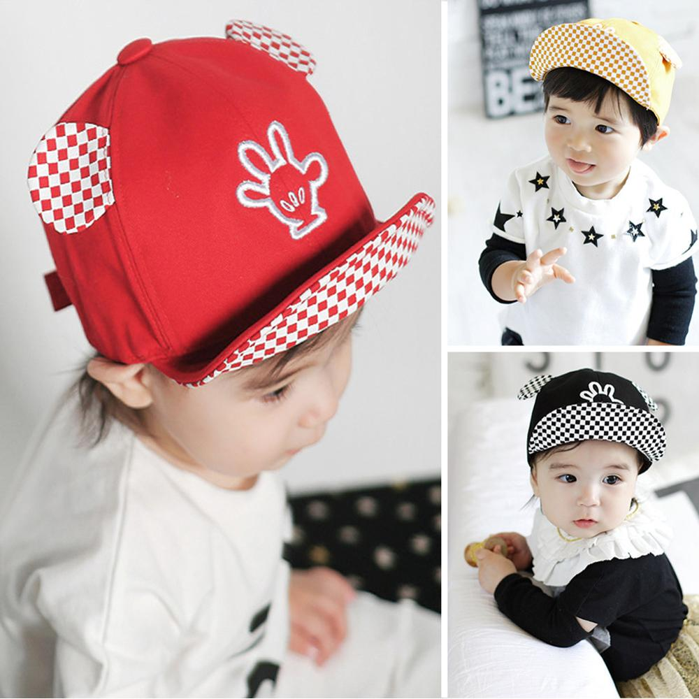 1pc Baby Hat Spring Summer Infant Cotton Comfortable Hats Baseball Cap Baby  Boy Beret Baby Girls Sun Hat Red a0b416ed79a