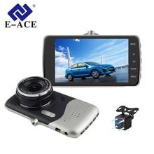 Sale E-ACE Car Dvr 4″ Camera Dash Cam FHD 1080P Dual Lens with Rear view Video Recorder Night Vision Auto Registratory Camcorder