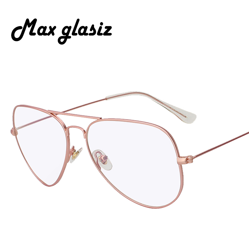 Max Glasiz Fashion Classic Retro Metal Eyewear Frame High Quality Men Women Optical Eyeglasses Glasses Spectacle Frame