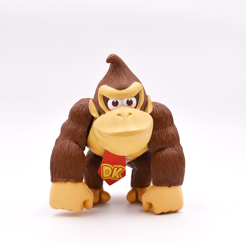 DONKEY KONG 1piece 6''15cm SUPER MARIO BROS PVC FIGURE TOY Action Figure Toys super mario bros action pvc figure toys 2 options 9pcs set 12cm height for xmas gift