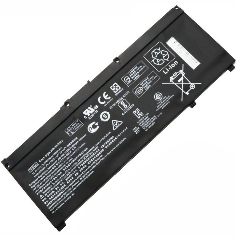 Image 2 - GZSM Laptop battery SR04XL for HP OMEN 15 CE 15 cb 15 CE015DX TPN Q193 TPN Q194  TPN C133 TPN C134 HSTNN DB7W 917724 855 battery-in Laptop Batteries from Computer & Office