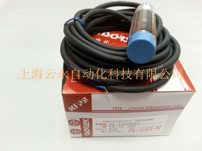 NEW  ORIGINAL XP-18D08E1  Taiwan  kai fang KFPS twice from proximity switch turck proximity switch bi2 g12sk an6x