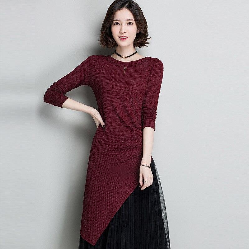La primavera de 2017 modelos de explosión simple sólido camisa de cuello de mang
