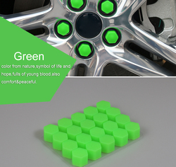 17 19 21 silicone car wheel hub screw nut decoration cap cover car styling protective bolt.jpg 250x250
