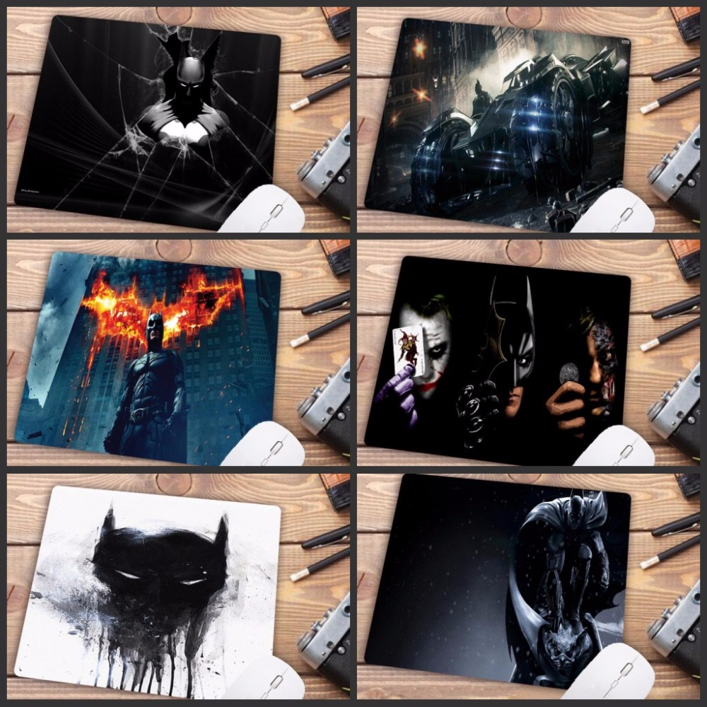 Mairuige 220*180*2MM  Batman Gaming Mousepad Mouse Mat Keyboard Mat Table Mat Mouse Pads Keyboard Gaming Small Size Mousepad