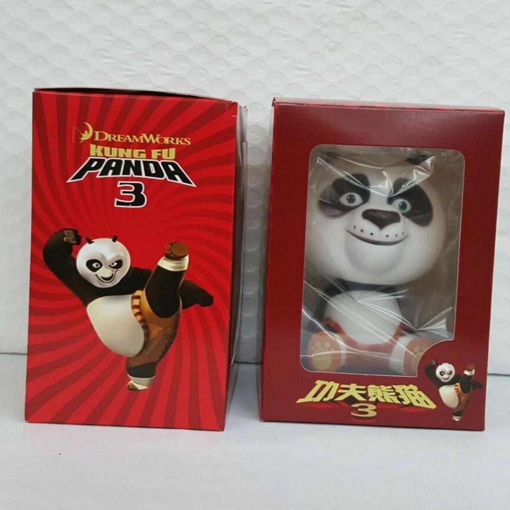 The wholesale animation Kung Fu Panda 3 Q version of Panda Po Bobblehead car decoration set