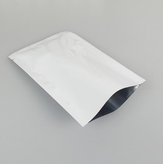 913cm white safety laminating aluminum foil plastic premium snail mask packaging bags 3side - Premium Halloween Masks