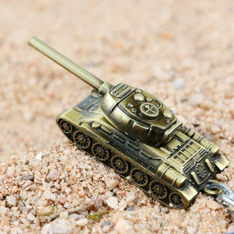 24 Pcs Lot 3D Model World Tank Key chain Metal Key Rings Gift Motor Car Keychain