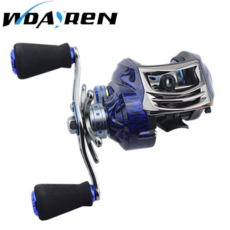 14+1BB Ball Bearings Water Drop Wheel Double Brake Daiwa Carretilha Bait casting Reel Fishing Gear Right/left Hand FA-295  hot sale brand fishing reel 8 ball bearings fishing gear water drop wheel right left hand bait fishing reel lure reel