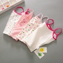 Майки и кофточки для девочек; нижнее белье для маленьких девочек; детские летние топы