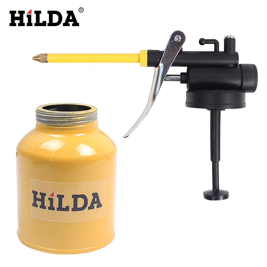 Hilda hvlp paint spray gun oil pump cans oiler hose grease for Spray gun for oil based paints
