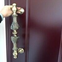 1 Pcs Antique Brass Plating Door Handle Wooden Glass Door Glass Door Modern Handle European Style